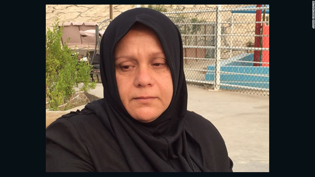 Umm Imad al-Jubouri, a mother of three, cannot stop crying and says she wants her son back dead or alive.