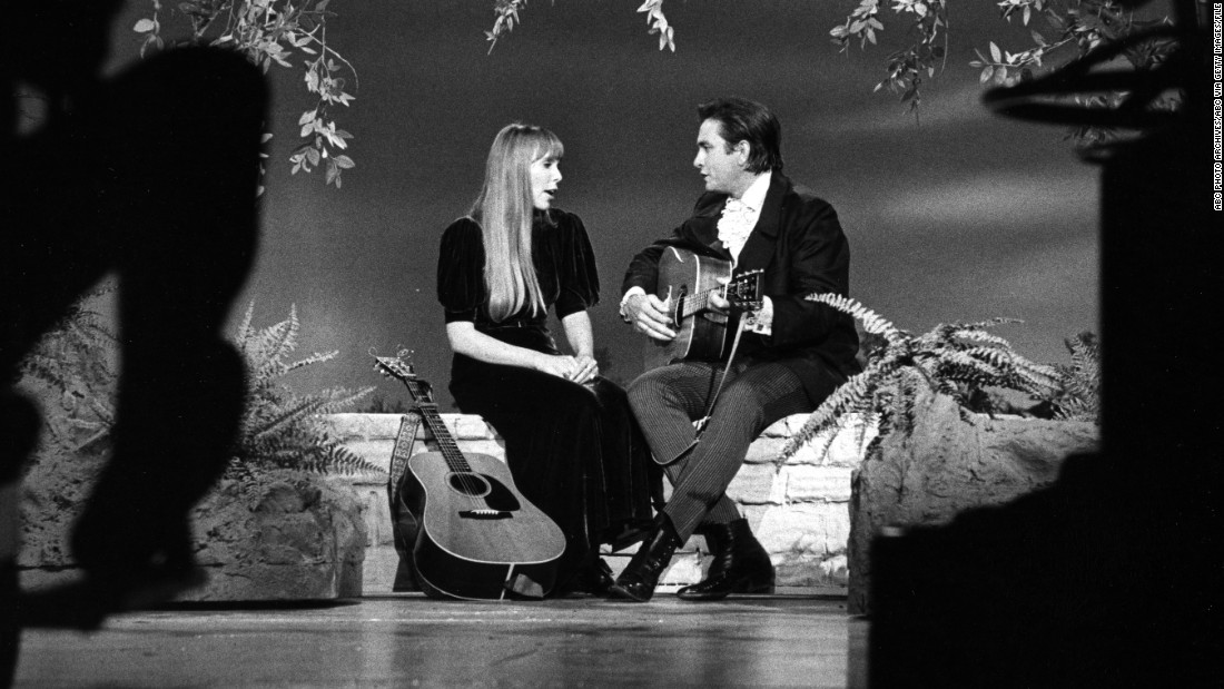 "Mitchell joins the Man in Black on ""The Johnny Cash Show"" in 1969. She emerged as a major singer-songwriter of the late '60s and early '70s with such songs as ""Both Sides Now,"" ""Woodstock,"" ""Big Yellow Taxi"" and ""Help Me."""
