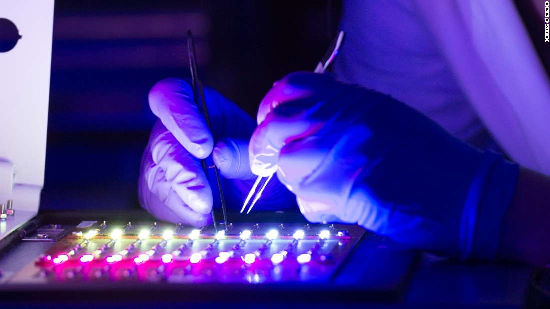 At the moment the display industry has shown the greatest interest in the quantum dot technology, but the lighting industry and the medical diagnostic industry are the next in line.