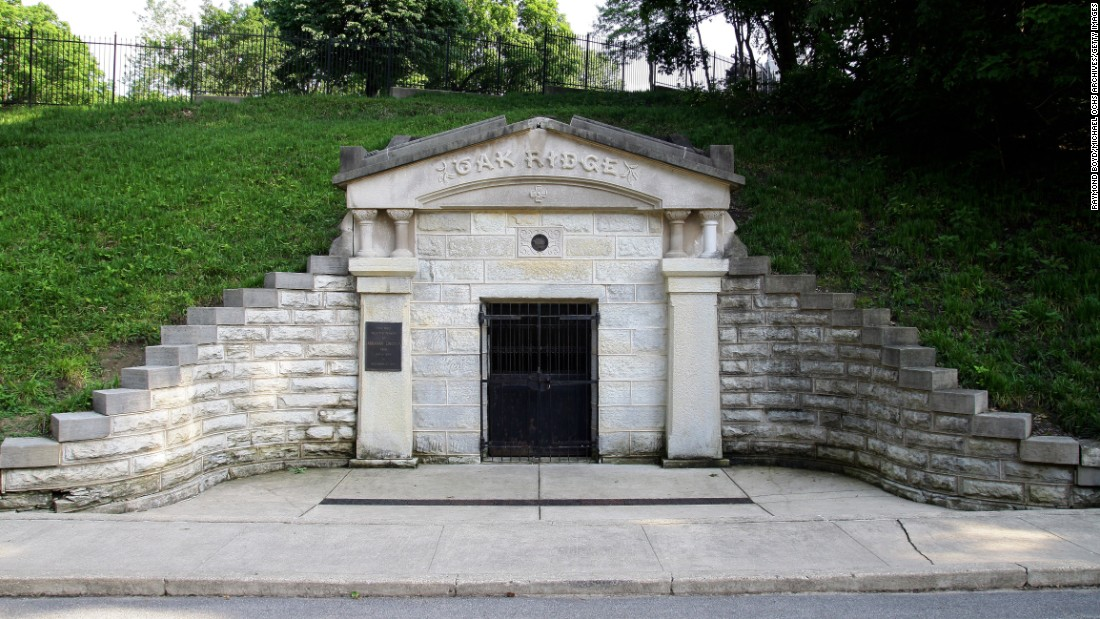 "A vault temporarily held the remains of President Lincoln at Oak Ridge Cemetery in Springfield, Illinois, while a permanent tomb was constructed. <a href=""http://lincolnfuneraltrain.org/"" target=""_blank"">The Lincoln Funeral Coalition</a> in early May is re-creating the solemn funeral procession through town, with an ending ceremony at the cemetery. A replica of Lincoln's hearse was built by three teams. ""The main focus is living history. My hope is that people learn the history of this and experience to the best of our ability what occurred in 1865,"" said coalition Chairwoman Katie Spindell. ""It has to be educational."""