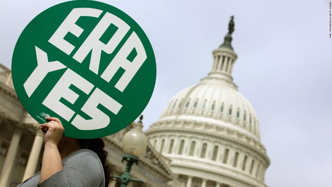 House votes to eliminate Equal Rights Amendment ratification deadline