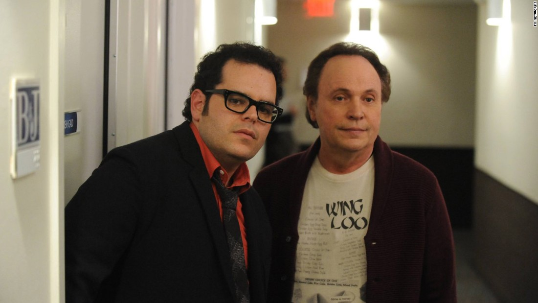 "Billy Crystal, right, and Josh Gad teamed up for ""The Comedians,"" which lasted one season on FX."