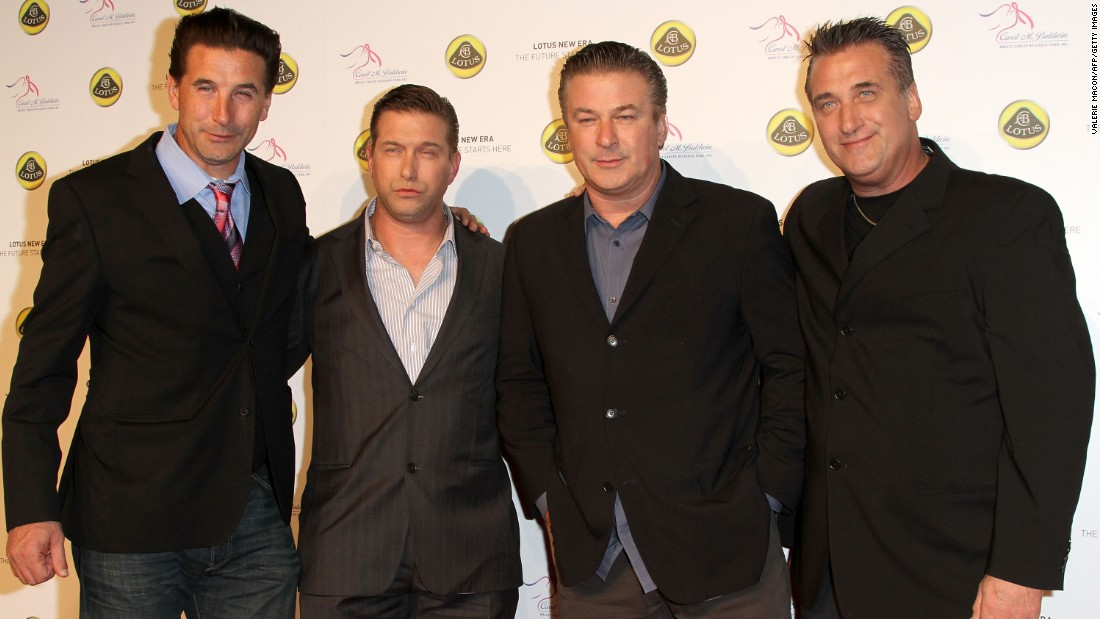 From left, Billy, Stephen, Alec and Daniel Baldwin hail from Long Island, the sons of a teacher father and housewife mother.