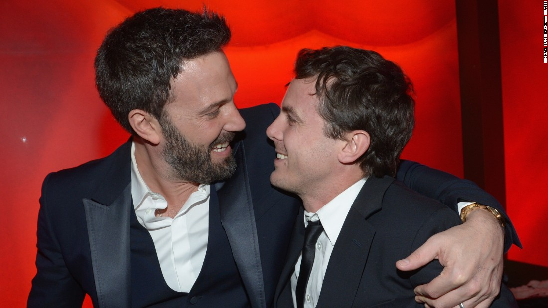 "Academy Award winner Ben Affleck, left, has directed little brother Casey in ""Gone Baby Gone"" and starred alongside him in ""Good Will Hunting."""