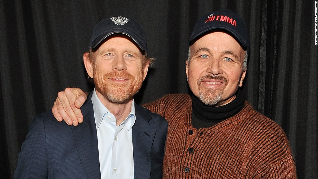 "Ron Howard, left, went from playing little Opie on ""The Andy Griffith Show"" to directing Hollywood blockbusters like ""Apollo 13"" and ""The DaVinci Code."" His brother Clint acts in many of his films. Clint has also appeared on ""My Name Is Earl"" and ""Arrested Development."""