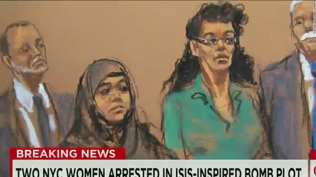 2 women plead guilty in plot to commit terror attack in US