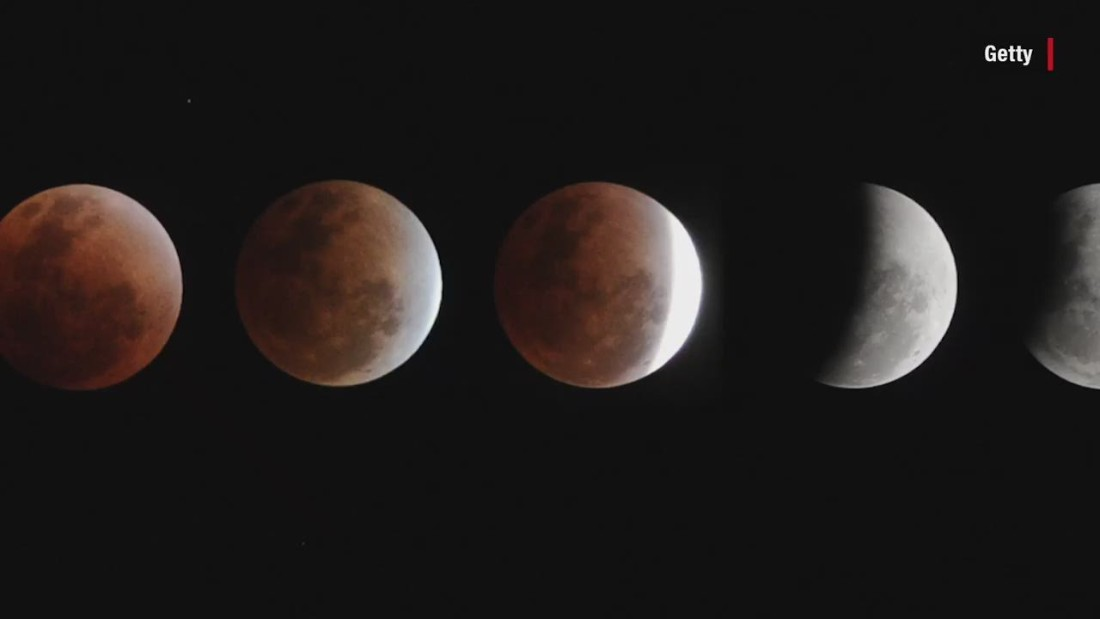 Much of the world will be able to see a partial lunar eclipse Tuesday -- just not the US
