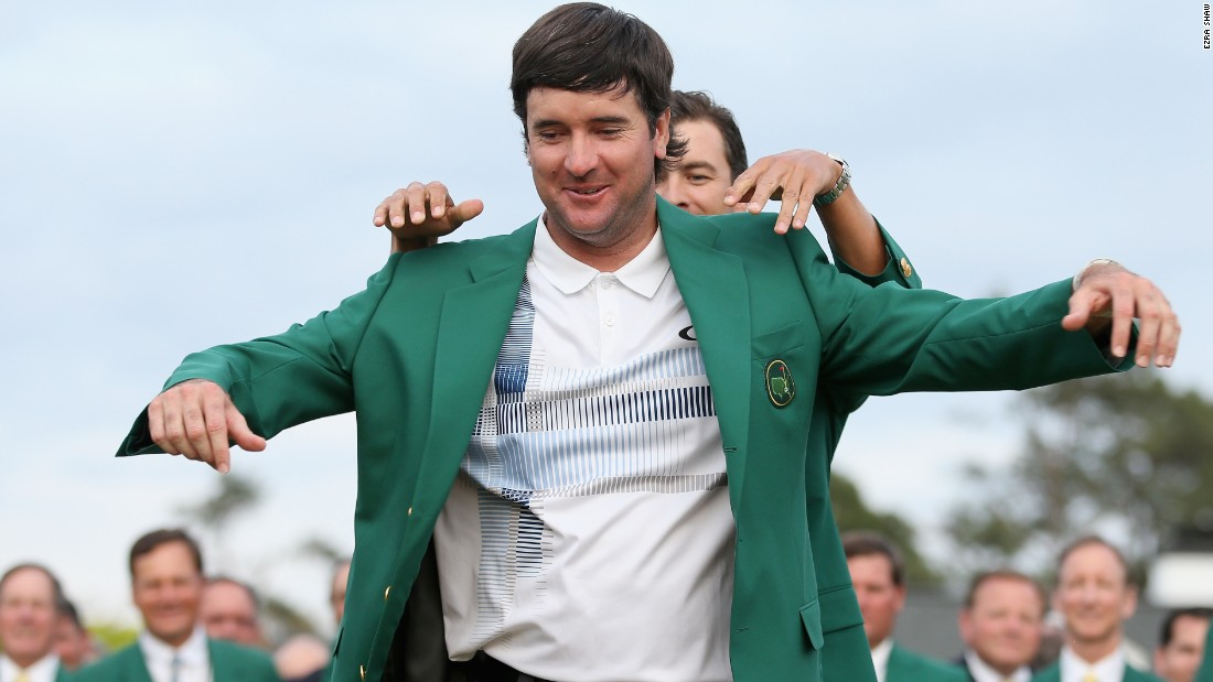 Australian Scott returned the favor and handed Watson his second green jacket in three years.