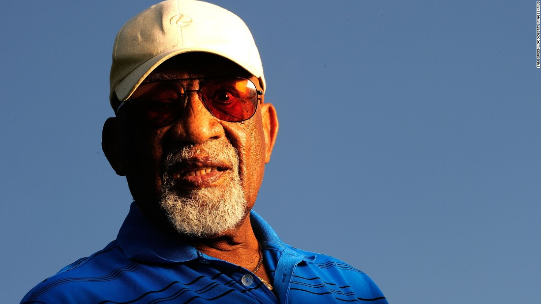 "In 2004, Charlie Sifford became the first African American inducted into the World Golf Hall of Fame. He had been the PGA Tour's first black player, winning two tournaments in the late 1960s. Sifford died in February 2015, aged 92. The PGA of America ended its ""Caucasian-only"" rule in 1961."