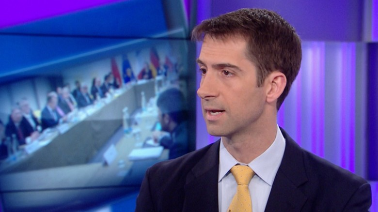 Cotton: Striking nuke facilities better than Iran deal