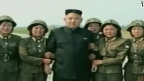 North korea kim jong un women apologise