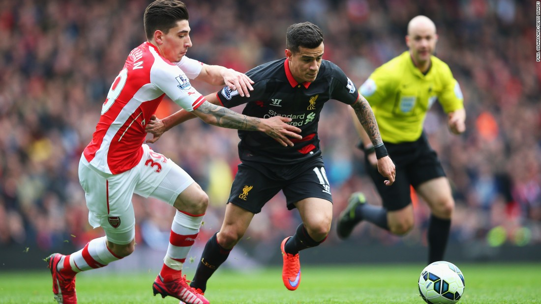 Arsenal and Liverpool faced-off in the EPL Saturday lunchtime.
