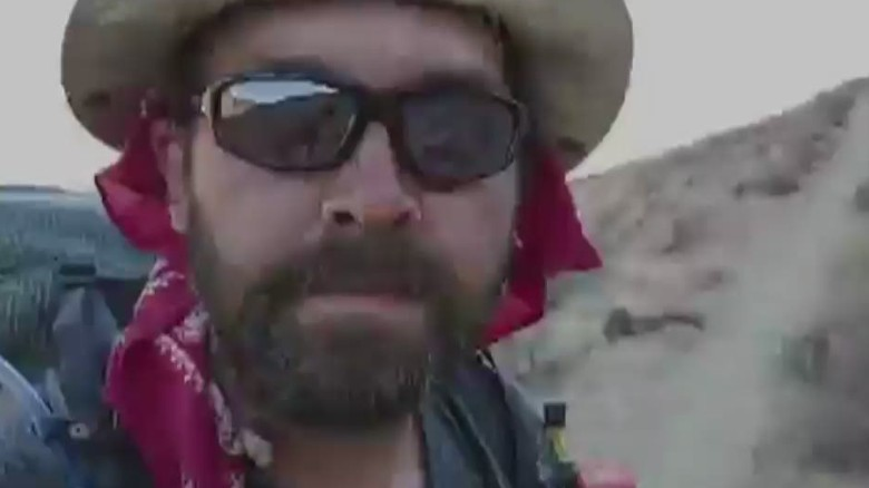 See how man changed during 2,660-mile hike