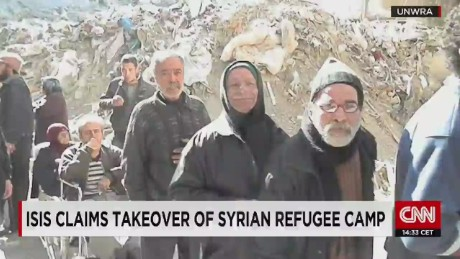 Isis takes over Syrian refugee camp