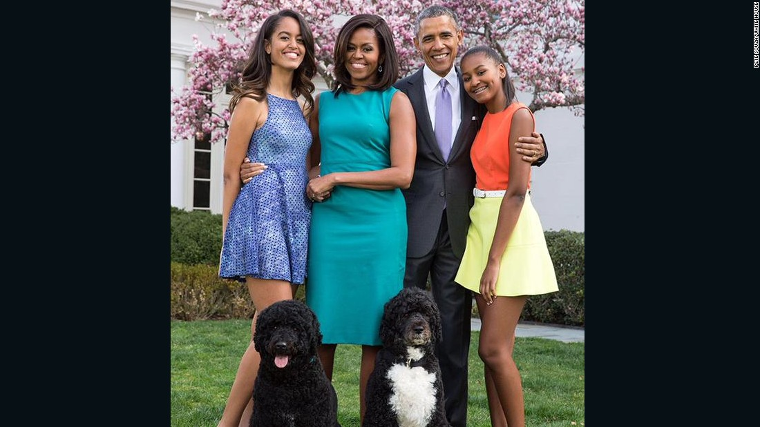 obama family portrait unveiled cnnpolitics