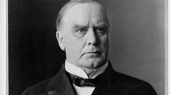 """""""Patriotism, Protection, and Prosperity"""" was McKinley"""