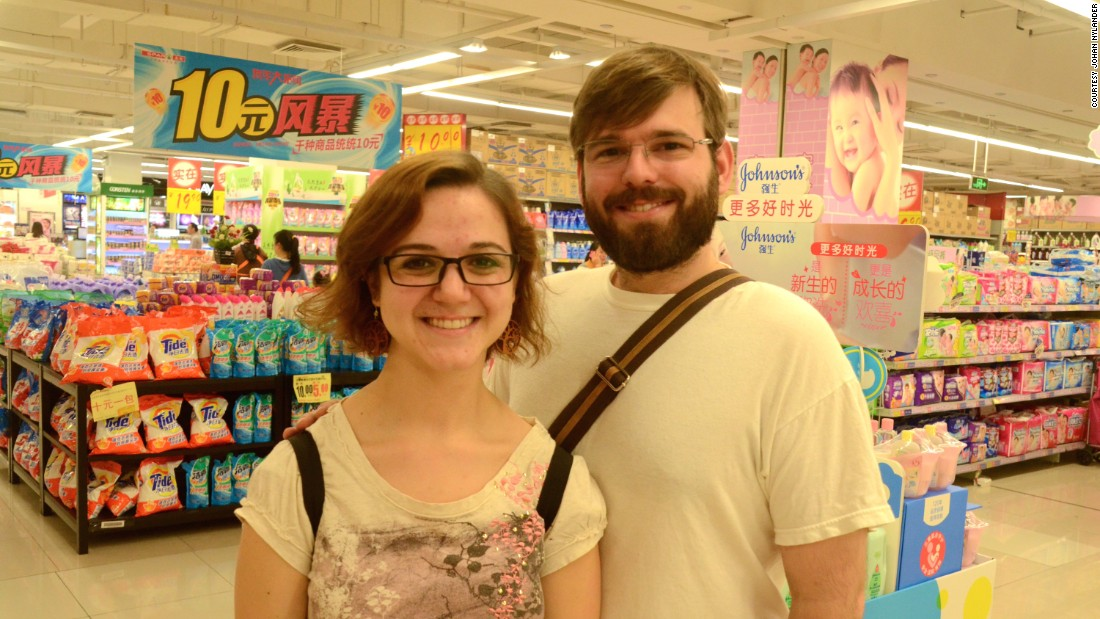 U.S. couple Danae and David Carr say they visit the mall at least once a month.