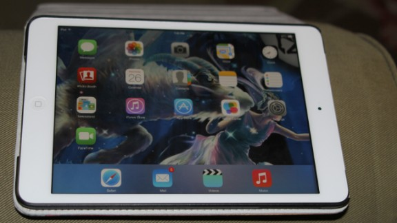 Electronics such as this iPad were also recovered.