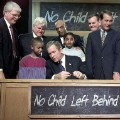 2002- bush no child left behind