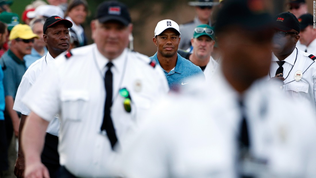 "Woods shot a career worst round of 82 at his first tournament of 2015 in Phoenix before withdrawing from his second at Torrey Pines due to injury. He said he'd only be back when his game was ""acceptable for tournament golf."""