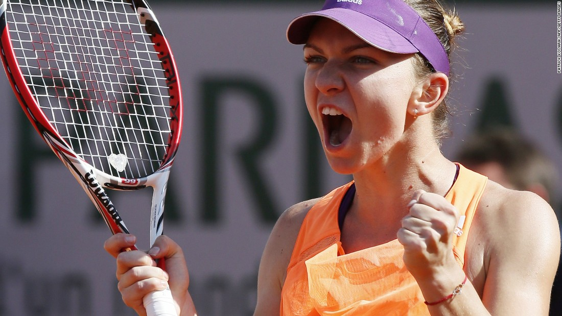 In last year's French Open final, Halep lost 6-4 in the third set to Maria Sharapova. But it was a huge battle.