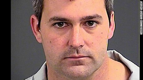 Michael Slager is charged with murder.