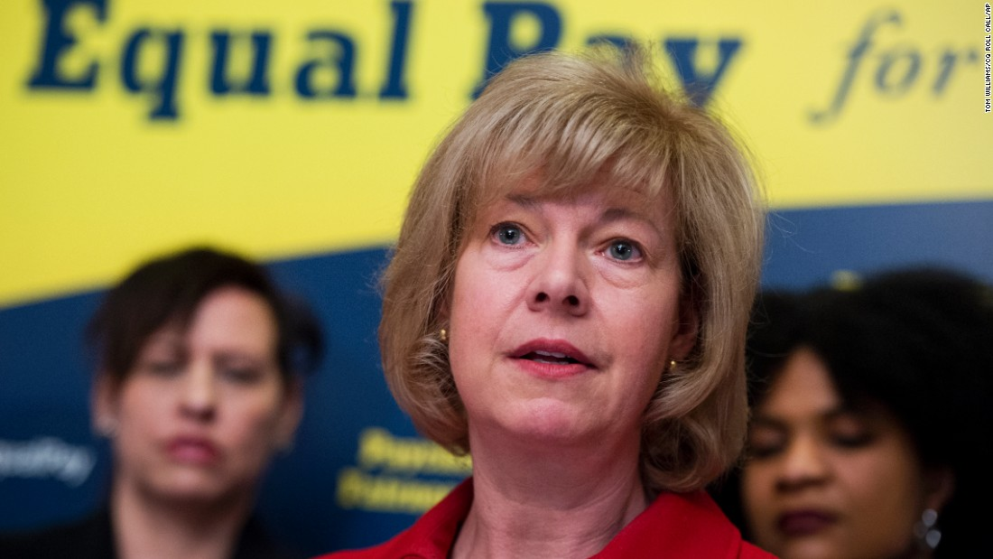 "When she was in the House, Tammy Baldwin sponsored the effort -- now led by Speier -- to lift the 1982 deadline, sometimes referred to as the ""three-state strategy."" Now a Democratic senator from Wisconsin, Baldwin urged the Senate last year to pass the Paycheck Fairness Act, which would help close the wage gap between men and women."