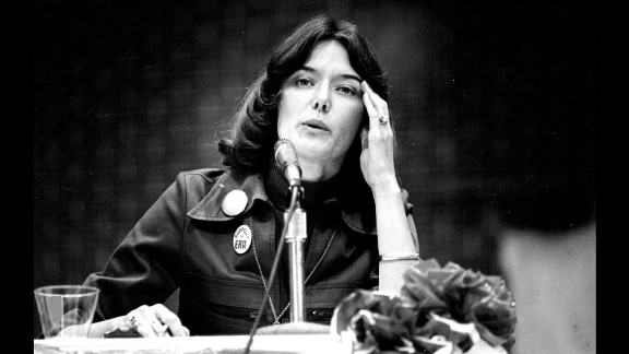 Pat Schroeder became the first woman elected to Congress from Colorado in 1972; she won on an anti-Vietnam War, pro-women