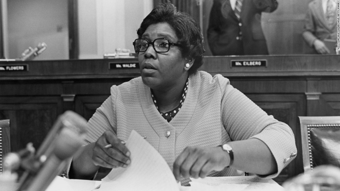 The first black congresswoman from the Deep South, Barbara Jordan fought to extend the 1979 deadline for ratification of the ERA. Earlier, as one of two women in the Texas Senate, she pushed for passage of the ERA and proposed a similar state amendment. She rose to national prominence in 1974 when her opening remarks at President Richard Nixon's impeachment hearings shook the nation.