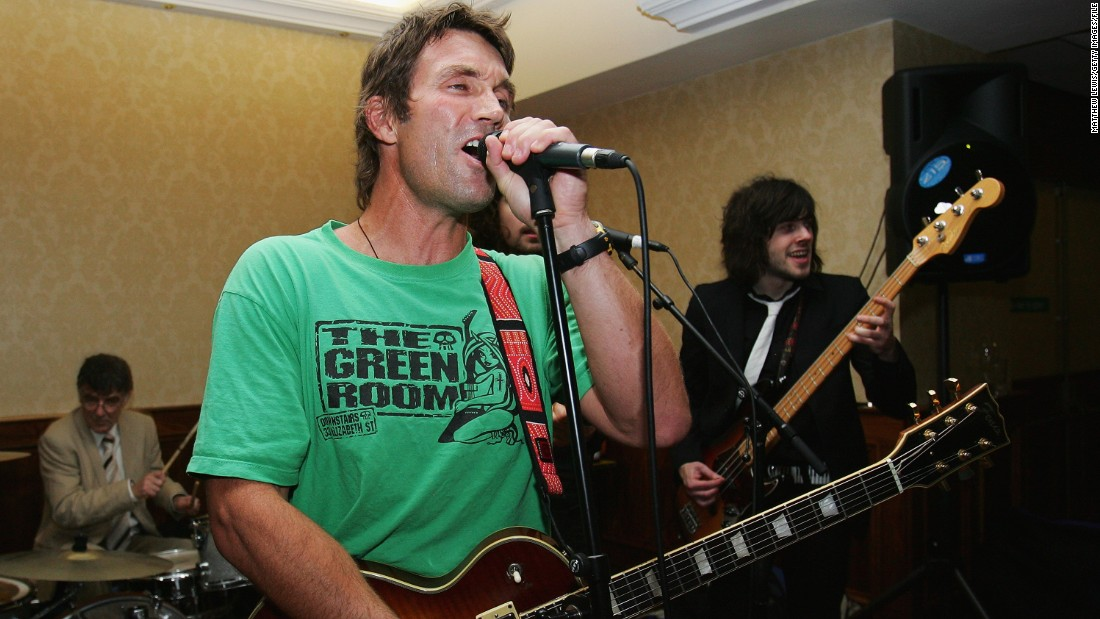 "Avid guitarist and 1987 Wimbledon winner Pat Cash re-recorded Led Zepplin's ""Rock and Roll"" for the charity Rock Aid Armenia and has played gigs at The Hippodrome in London."
