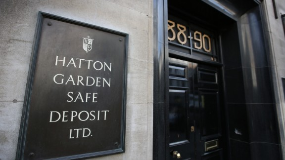 Thieves plundered millions in valuables over Easter holiday from the vault of a safety deposit company in Hatton Garden, London
