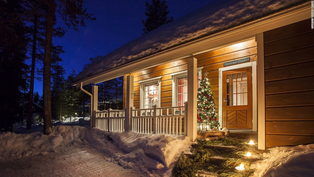 The Christmas chalets come with decorated Christmas trees, aromatic candles and log fires, whatever the weather. Off-season Christmases will offer better value for money and a better chance of meeting an overstretched Santa, the travel company says.