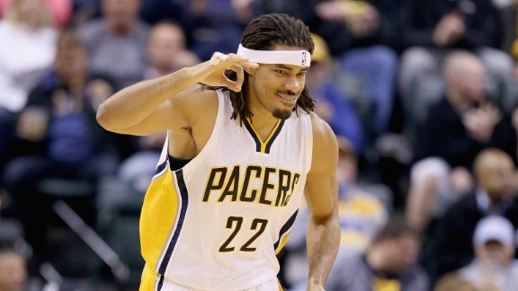 Indiana Pacer Chris Copeland, pictured during a game in October, was reportedly stabbed Wednesday in New York.