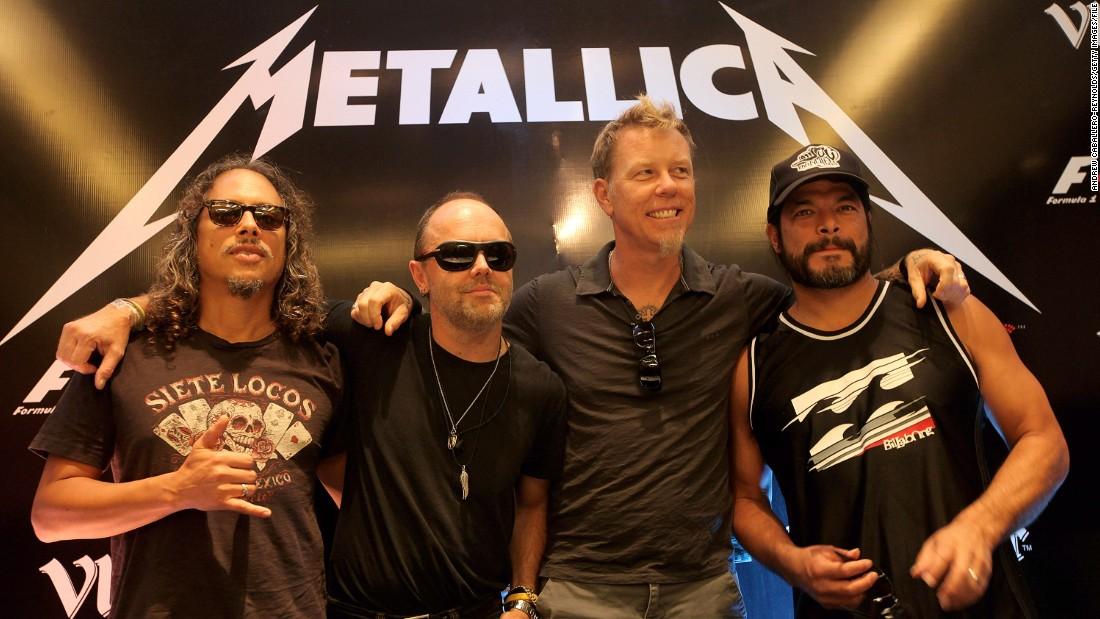 ... The Dane is the father of Metallica drummer Lars Ulrich (second from left.) Formed in 1981 the band has released 12 albums with the musician now reportedly worth over $170m.