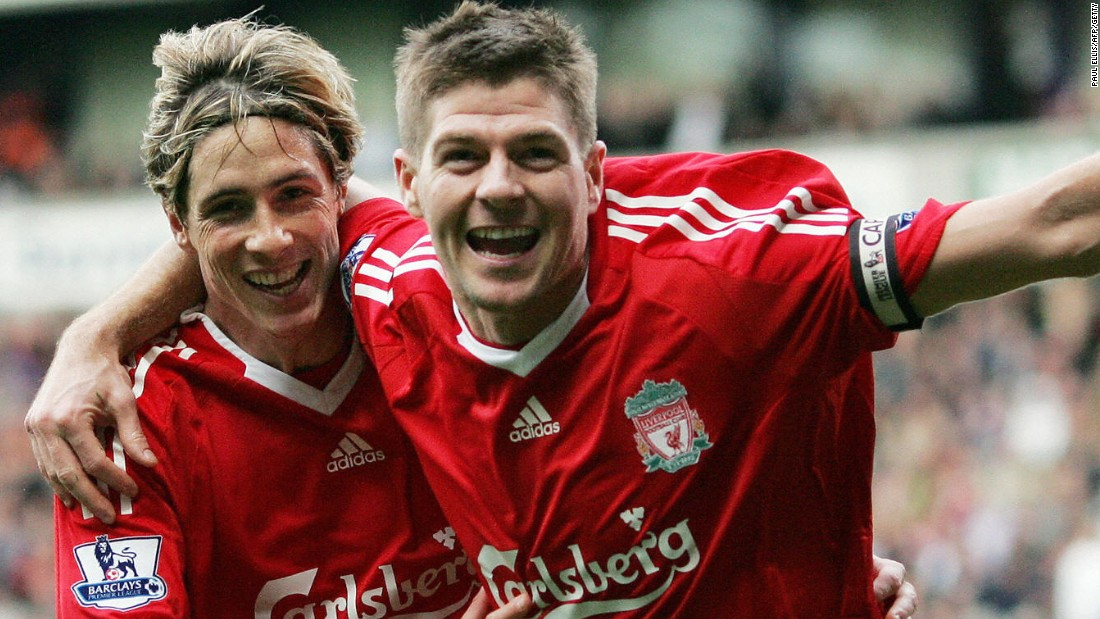 Torres says he enjoyed his best moments in football playing alongside Steven Gerrard during his Liverpool glory days, having left Atletico in 2007.