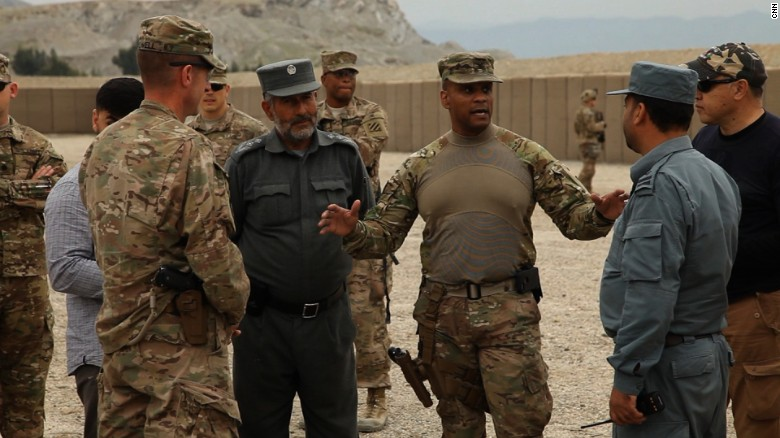 The last remaining American troops in Afghanistan