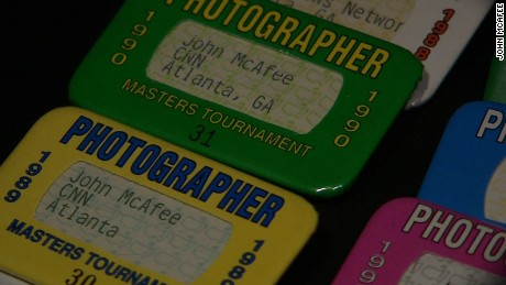 CNN photojournalist reflects on 28 years at The Masters