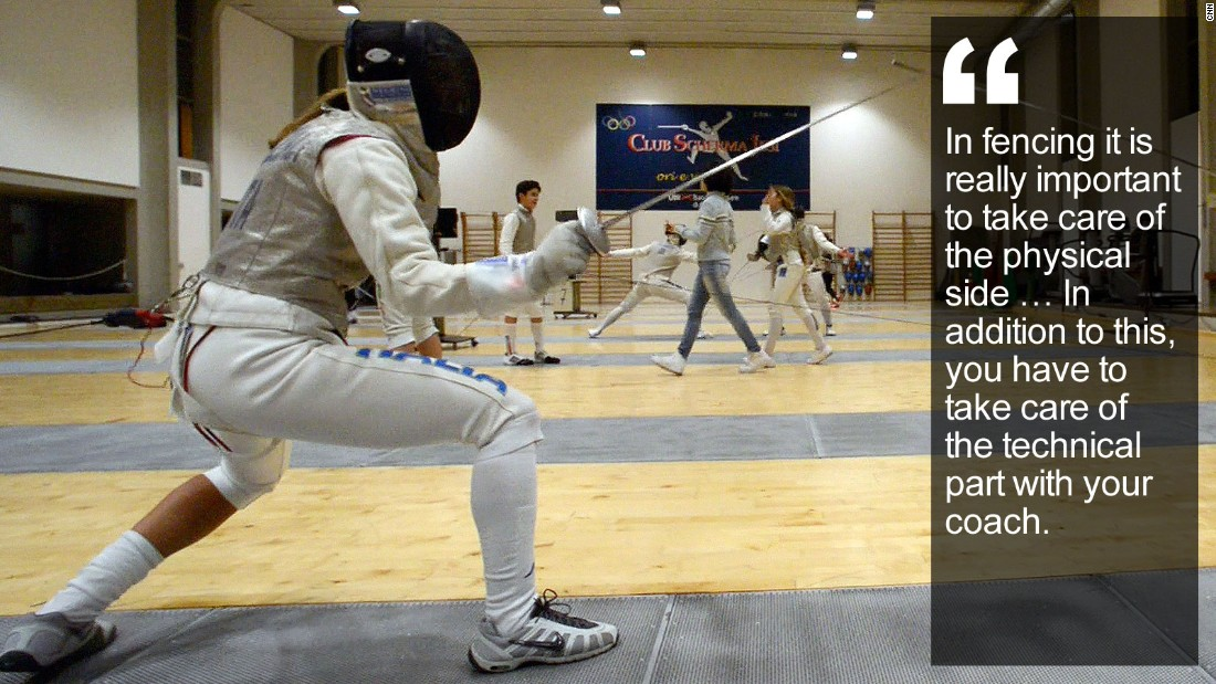 Fencing Quotes Custom Valentina Vezzali Fencing's Political Jouster  Cnn