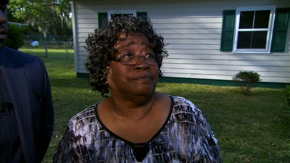 Judy Scott, whose son Walter was gunned down by a police officer, has said she forgives his killer.