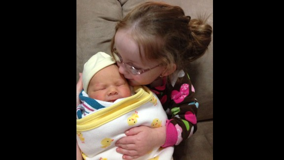 """""""Anna thought it was very strange that her new toy baby moved and made noises. She also kept asking when the baby's mommy was going to come get her."""" -- Crystal Lloyd, Ridgecrest, California"""
