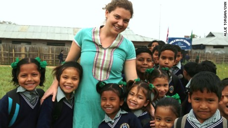 In 2006, New Jersey native Maggie Doyne purchased land in Surkhet, a district in western Nepal. She worked for two years with the local community to build the Kopila Valley Children's Home.