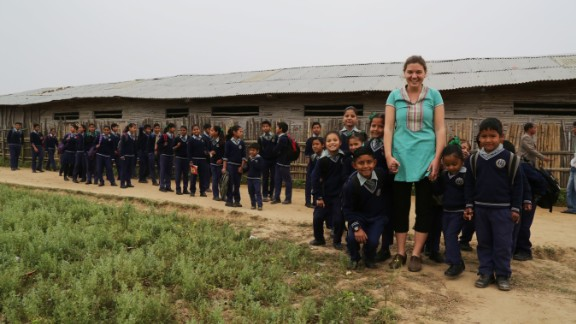 In 2006, New Jersey native Maggie Doyne used $5,000 she had earned for babysitting to purchase land in Surkhet, a district in western Nepal. She worked with the local community to build the Kopila Valley Children's Home, which today is home to nearly 50 children.