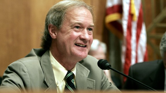 Lincoln Chafee, a Republican-turned-independent-turned-Democrat former governor and senator of Rhode Island, said he