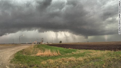 Tornado Warned Storm- Washington County, IA