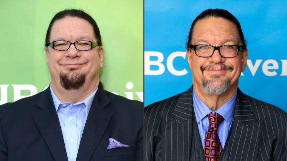 Penn Jillette told People magazine there was no magic involved in his weight loss from 330 to 225 pounds. The performer, who is half of the illusionist act Penn & Teller, just changed his eating habits to shed 105 pounds and get his high blood pressure under control.