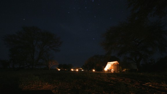 CNN's Ingrid Formanek joined some of Africa's top safari guides on a tour hosted by the non-profit African Parks at their newly established Camp Nomade.