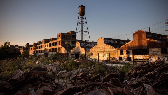 Detroit once had a booming manufacturing industry