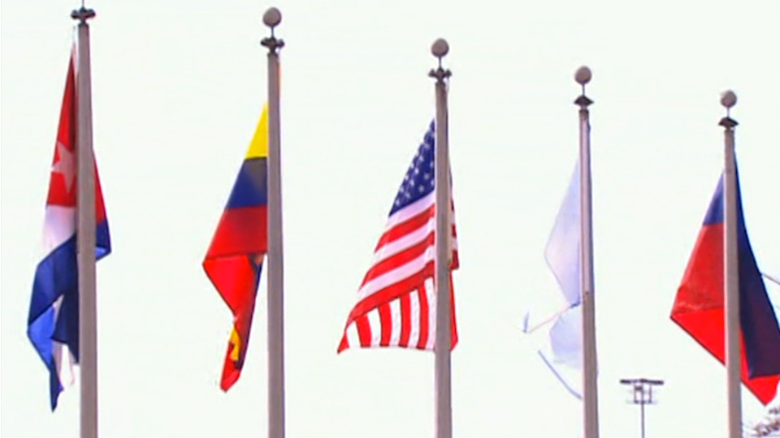 Triangle of tension at the Summit of the Americas