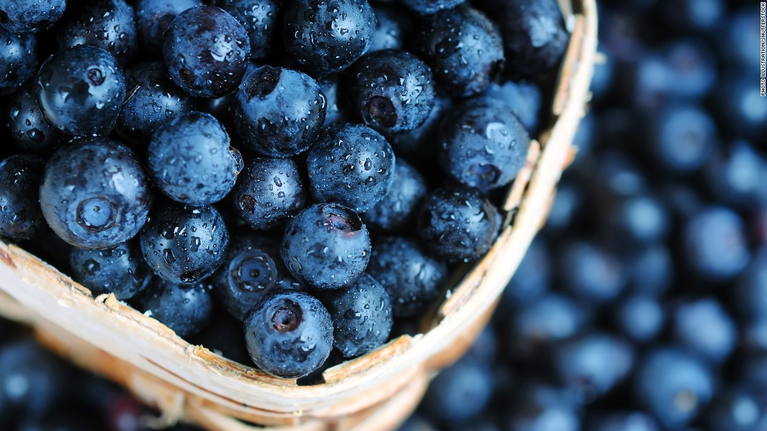 "Blueberries, strawberries and other berry family members make the MIND diet with a suggested two servings a week. A <a href=""http://www.ncbi.nlm.nih.gov/pubmed/24117094"" target=""_blank"">rich source of antioxidents and flavonoids, blueberries </a>have been shown to improve memory, cognition and spatial memory, <a href=""http://www.ncbi.nlm.nih.gov/pubmed/23723987"" target=""_blank"">according to earlier studies.</a>"