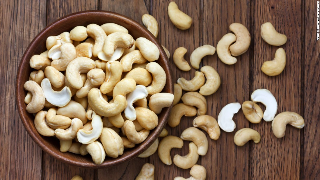 Cashews contain zinc, which could help in reducing your anxiety.